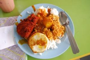 Nasi Kandar khas Penang