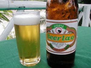 Lao Beer 30baht @ Done Xao