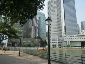 North bank of the SIngapore River