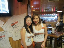 Cute Hooter Girls