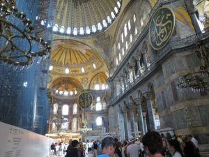 Ruang Utama Hagia Sophia