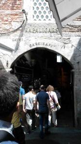Pintu Masuk ke Grand Bazaar