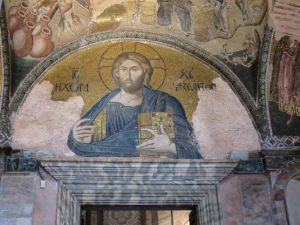 Salah satu mosaic di Chora Church