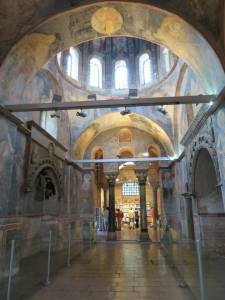 Interior Chora Church