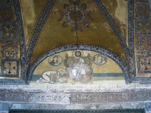 Mosaic di atas PIntu Kekaisaran