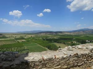 Pemandangan dari benteng Ayasoluk