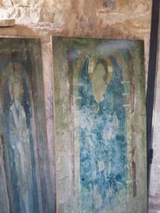 mosaik malaikat yang masih tersisa
