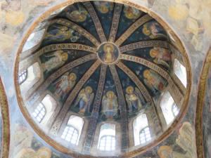 Mosaik Perawan Maria dan Kanak-Kanak Yesus