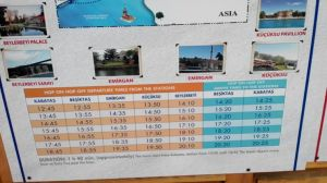 Jadwal Short Bophorus Cruise Dentur Avrasya