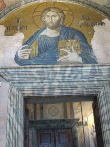 Mosaic Christ in the Land of Living