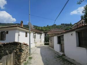 Jalan di desa Sirince