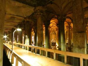 The serenity of the ancient cistern