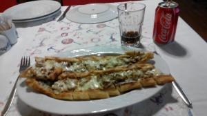 Pide with Feta Cheese