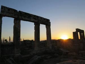 Sunset on Hierapolis