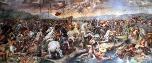 Pertempuran Milvian Bridge, courtesy of http://en.wikipedia.org/wiki/Battle_of_the_Milvian_Bridge