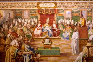 Konsili Nicaea,courtesy ofhttp://upload.wikimedia.org/wikipedia/commons/4/4f/Nicea.jpg