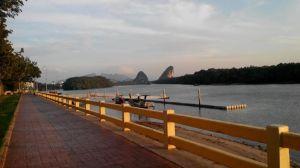 Morning Run at Krabi