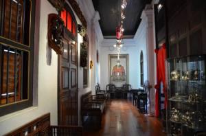 Suatu lorong di Penang Peranakan Museum