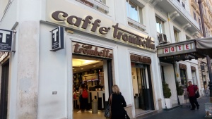 Caffe favorit saya di Roma