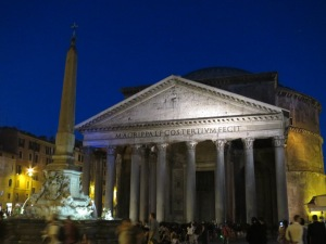 Pantheon, Kuil segala dewa yang menjadi gereja