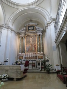 Altar Basilica San Sebastian