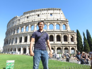 Shine bright from the Colosseum!