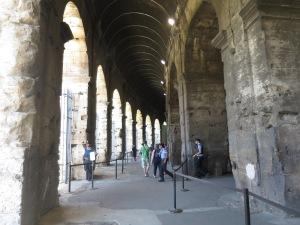 Inside Coloseum level 1