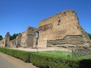 Bagian Barat Bath of Caracalla