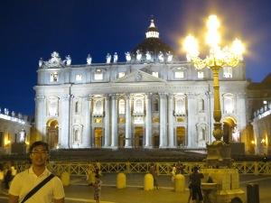 Suatu Malam di St Peter's Square