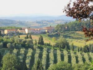 Pemandangan khas Chianti