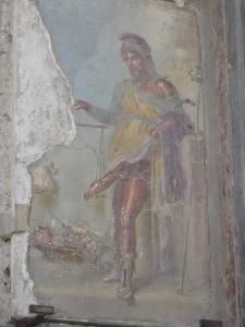 Fresco dewa Priapus di House of Vetii