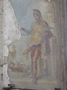 Fresco dewa Priapus di House of Vetii