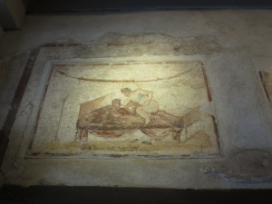 Fresco Erotis di Lupanare