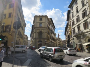 Typical street in Florence