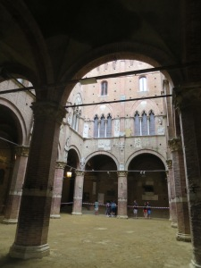 Inside Palazzo Publico