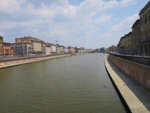 Sungai Arno dari Ponte Mezzo