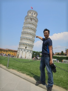 Look Mom..I am at Pisa Tower