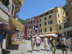 one sunny day at Vernazza