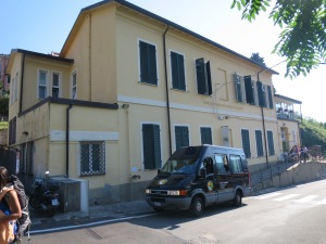 Shuttle van and Ostello Tramonti