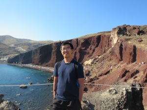 Just me near the Red Beach