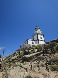 Mercusuar Santorini