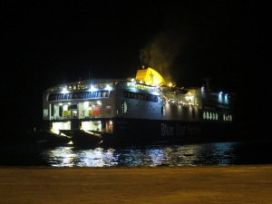 Kapal Ferry datang menjemput