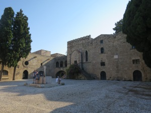 The courtyard of Archaeological Museum