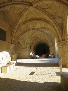 Salah satu lorong di Archeological Museum