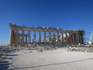 Kuil Parthenon dilihat dari Poryplea
