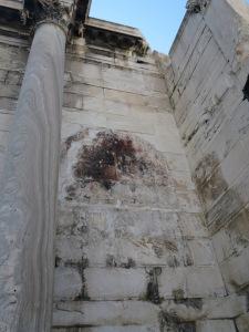 Mosaik byzantine yang mulai pudar