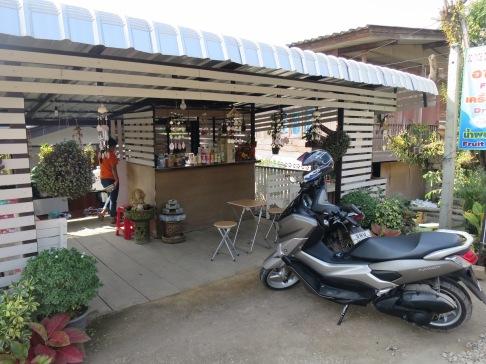 First stop..Green Matcha Tea cafe