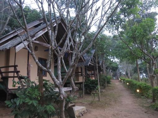 Pagi yang sepi di Mountain View Guesthouse