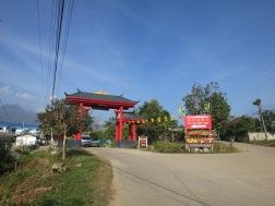 Gerbang menuju Chinese Village