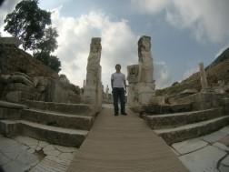 at the gate of Hercules